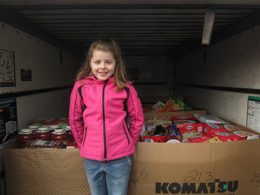 Food drive with Alexa